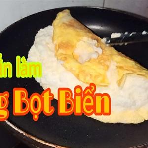 Trứng Bọt Biển - món trứng gà chiên kiểu hàn quốc