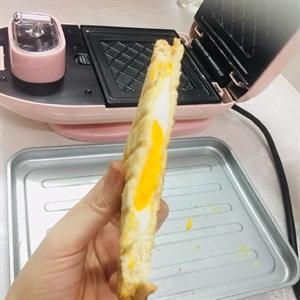 Bánh mì sandwich kẹp trứng cho bữa sáng chỉ trong 7 phút