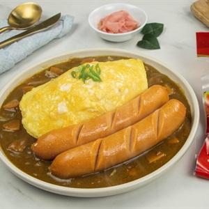 Cơm Cà Ri Xúc Xích Nhật Bản