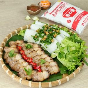 Thịt Heo Nướng Mỡ Hẹ