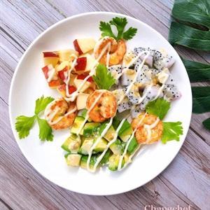 Salad Trái Cây Sốt Chanh Dây Mật Ong