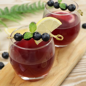 Blueberry Ginger Toddy