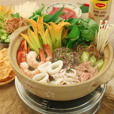 Lẩu Thái Cua Đồng