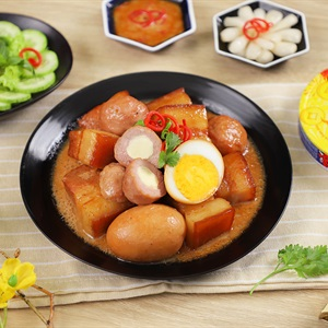 Thịt Kho Trứng Phô Mai