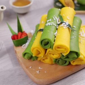 Bánh Cuộn Dừa