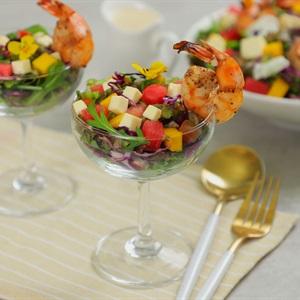 Salad  Phô Mai Tôm Nướng