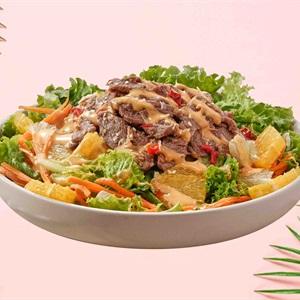 Salad Sốt Bơ Đậu Phộng