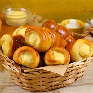 Bánh Mì Xoắn Ốc Nhân Kem Trứng