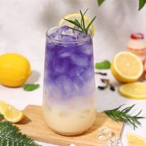 Soda Chanh Yakult Hoa Đậu Biếc