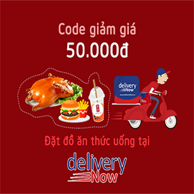 VOUCHER DELIVERYNOW 50.000Đ