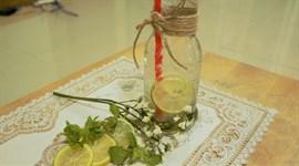 Cách làm soda chanh bạc hà
