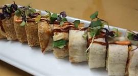 Biến tấu hamburger thành sushi siêu hấp dẫn