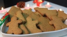 Bánh quy gừng cho Giáng Sinh ấm áp