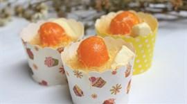 Bánh bông lan trứng muối hấp - không cần lò nướng