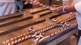 Quy trình sản xuất kẹo cây gậy cho Giáng Sinh