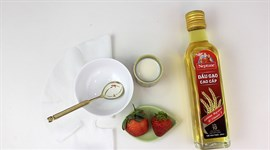 Mặt nạ dầu gạo cho da nhạy cảm