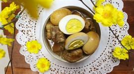 Món Tết: Thịt kho tàu mềm thơm, đậm đà