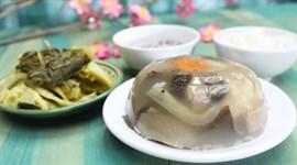Món Tết: Thịt đông mềm ngon chuẩn vị