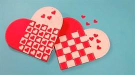 Làm thiệp Valentine cực dễ thương