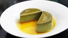 Bánh flan trà xanh thơm béo tuyệt ngon
