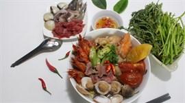 Hướng dẫn nấu lẩu Thái hải sản chua cay