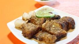 Thịt heo quay bằng chảo chống dính