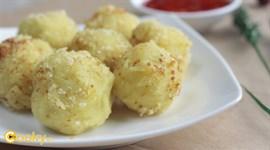 Cách làm Khoai lang bọc phô mai chiên xù
