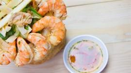 Cách trộn gỏi củ hũ dừa tôm thịt ngon như nhà hàng