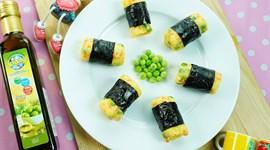 Cách làm khoai tây nghiền cuộn rong biển