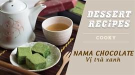 Cách làm Nama chocolate vị trà xanh