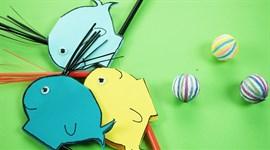 Cách làm chú cá heo thổi bong bóng tặng bé yêu