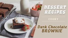 Cách làm Bánh brownie chocolate đắng