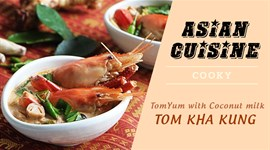 Cách nấu canh Tom Yum chua cay chuẩn Thái