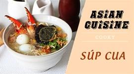 Cách nấu súp cua thập cẩm