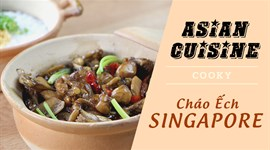 Cách làm Cháo ếch Singapore