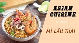 Cách nấu Mì lẩu Thái
