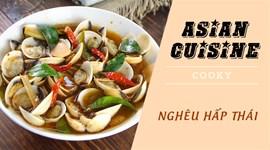 Cách nấu Nghêu hấp Thái