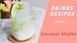 Cách pha chế Mojito dừa