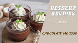 Cách làm Mousse Chocolate