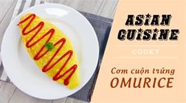 Cách làm Cơm cuộn trứng - Omurice
