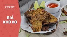 Cách làm Thịt heo Giả khô bò