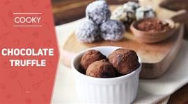 Cách làm Chocolate Truffle