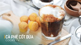 Cách làm Cà phê cốt dừa