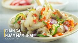 Cách làm Chân gà ngâm kiểu Thái