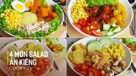 4 món Salad ăn kiêng chuẩn không cần chỉnh (Healthy Food)