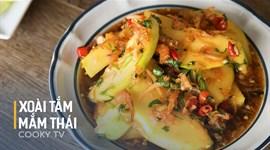 Cách làm Nước mắm chấm trái cây kiểu Thái