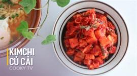 Cách làm Kim chi củ cải