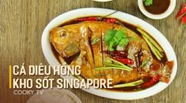 Cách làm Cá diêu hồng kho sốt Singapore