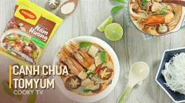 Cách nấu Canh chua Tom Yum