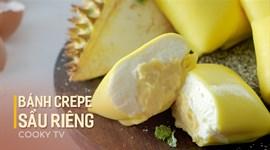 Cách làm Bánh crepe sầu riêng